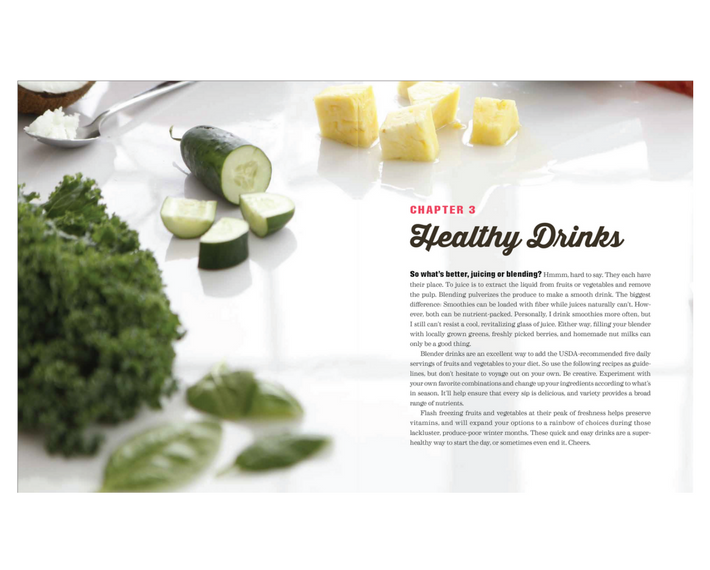 The Ultimate Blender Cookbook Healthy Drinks