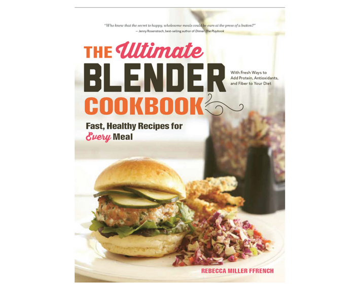 The Ultimate Blender Cookbook Cover