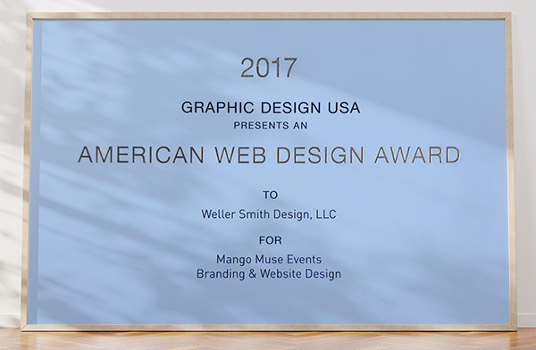 GD USA Award 2017, Mango Muse Events