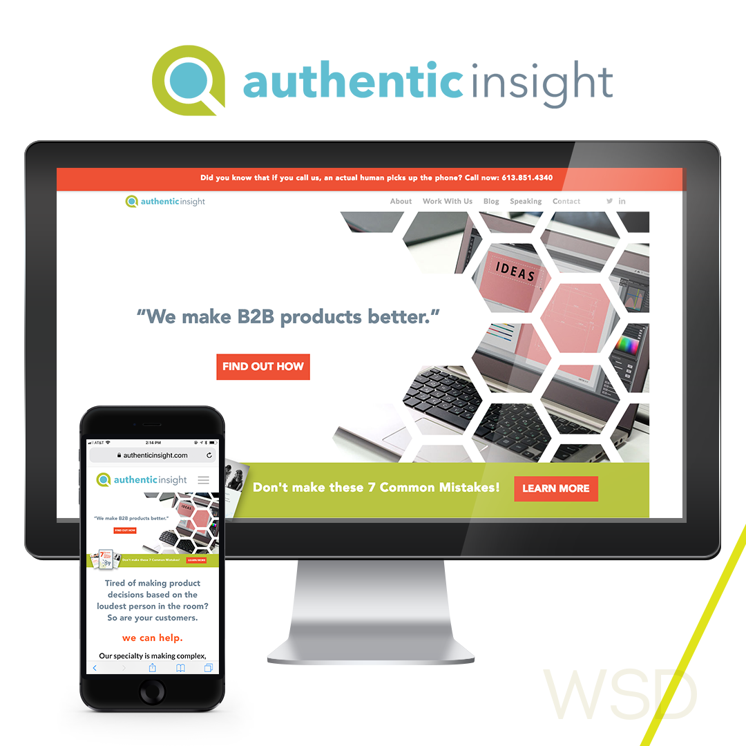 Authentic Insight Website