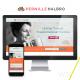 Pernille Halbro Wellness Coach Branding and Website Design