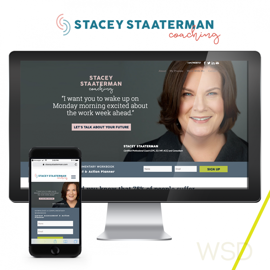 Stacey Staaterman Coaching Collage