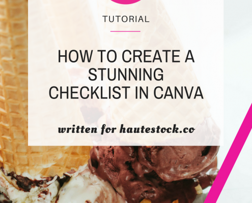 Canva Tutorial - How to Create a Stunning Checklist in Canva