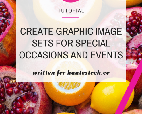 Canva Tutorial - Create Graphic Image Sets for Special Occasions and Events
