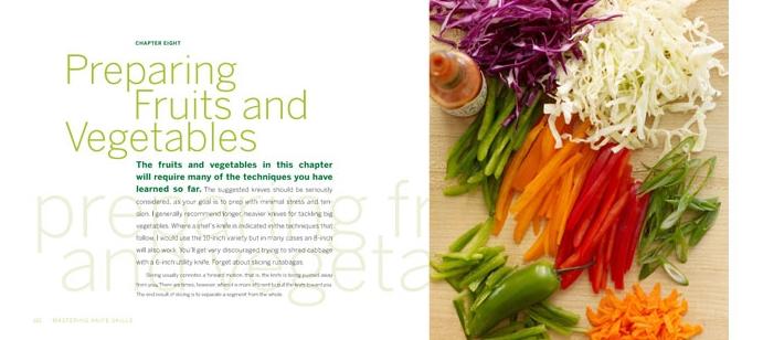 Mastering Knife Skills Stewart Tabori and Chang Chapter Opener