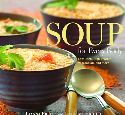 Soup for Every Body The Lyons Press Joanna Pruess Cover
