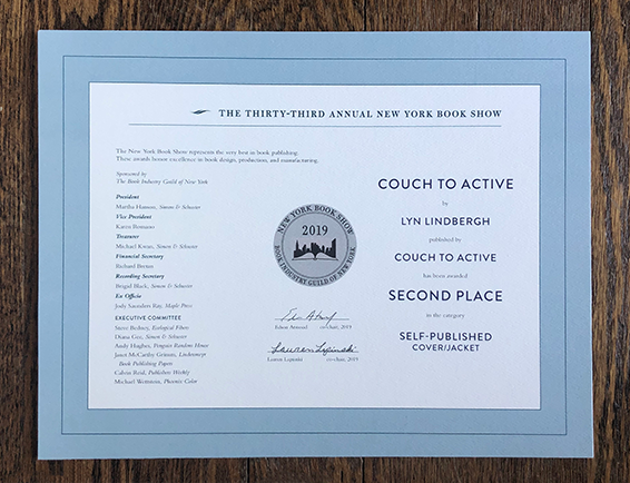 New York Book Show Award, Couch to Active