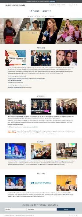 About Lauren Leader Webpage