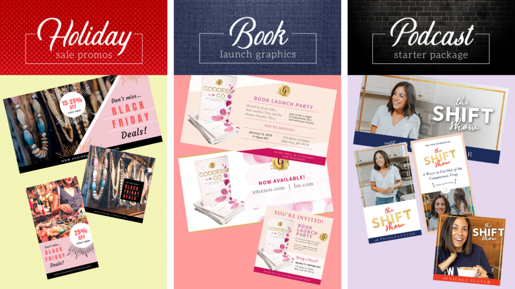 Canva Graphic Packages