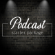 Canva Podcast Starter Graphics Package
