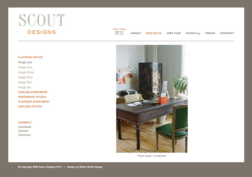 Scout Designs NYC Portfolio 1