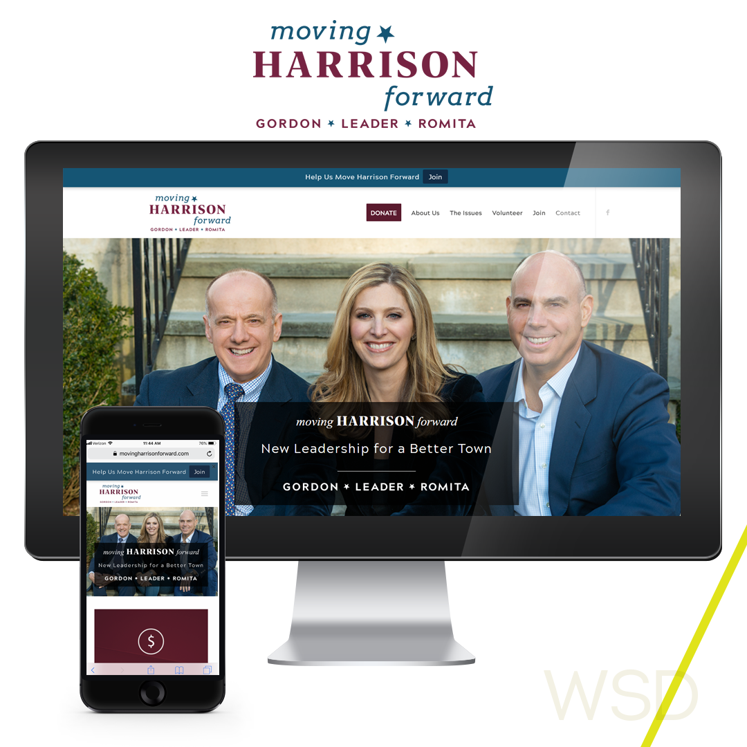Moving Harrison Forward Website