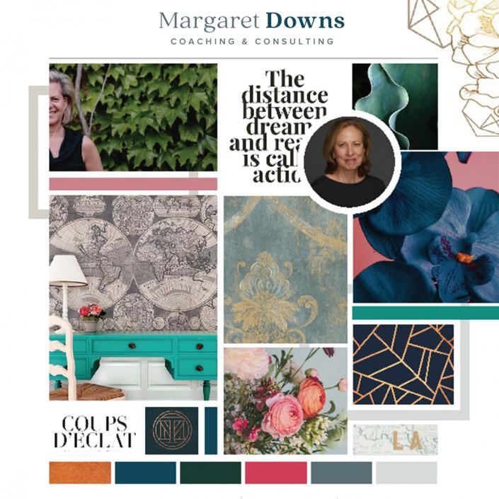 Margaret Downs Brand Board
