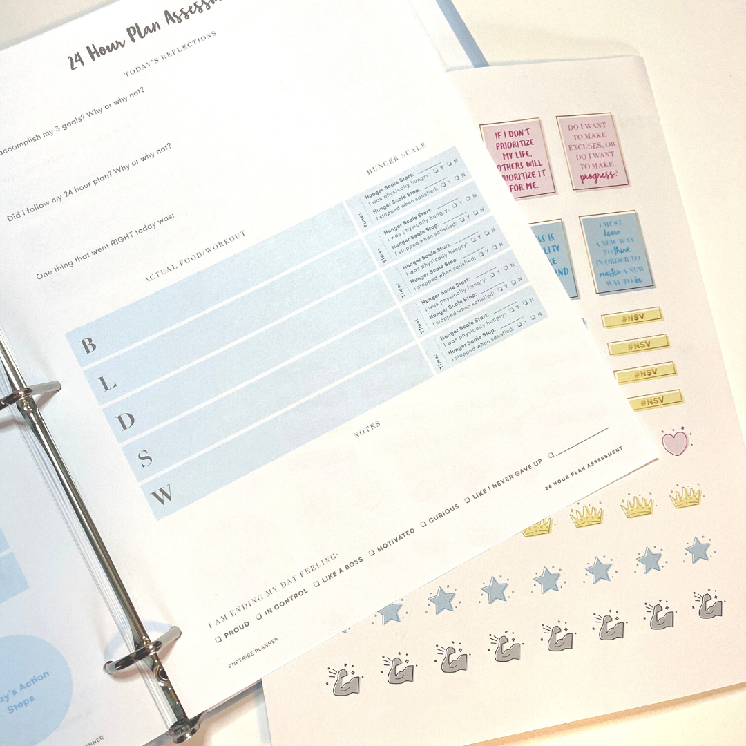 Phit and Phat Planner Interior
