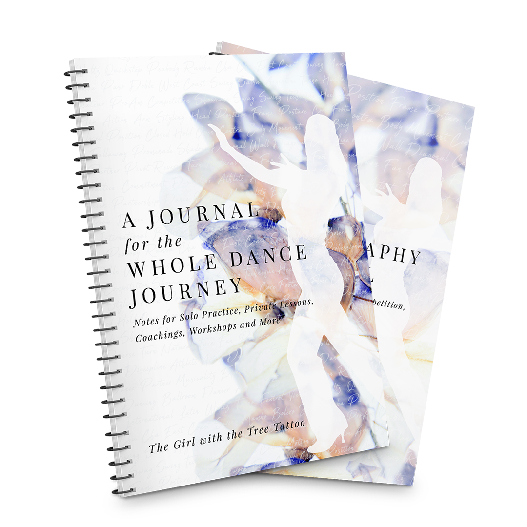 Katie Flasher, Custom Dance Journals