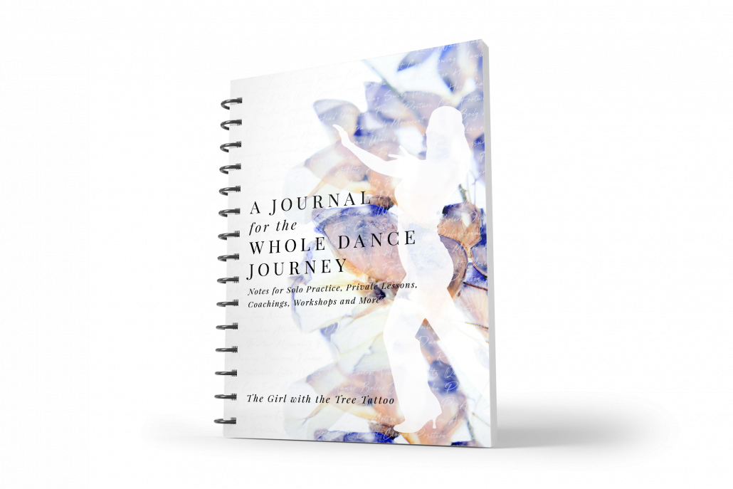 Katie Flashner, Custom Dance Journal