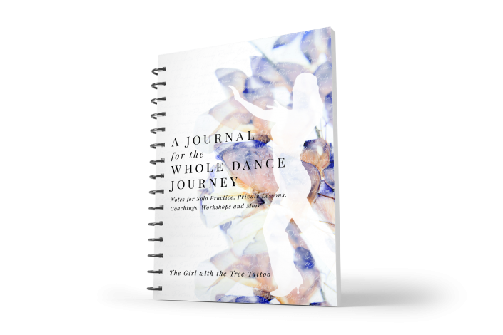 Katie Flashner, Custom Dance Journal