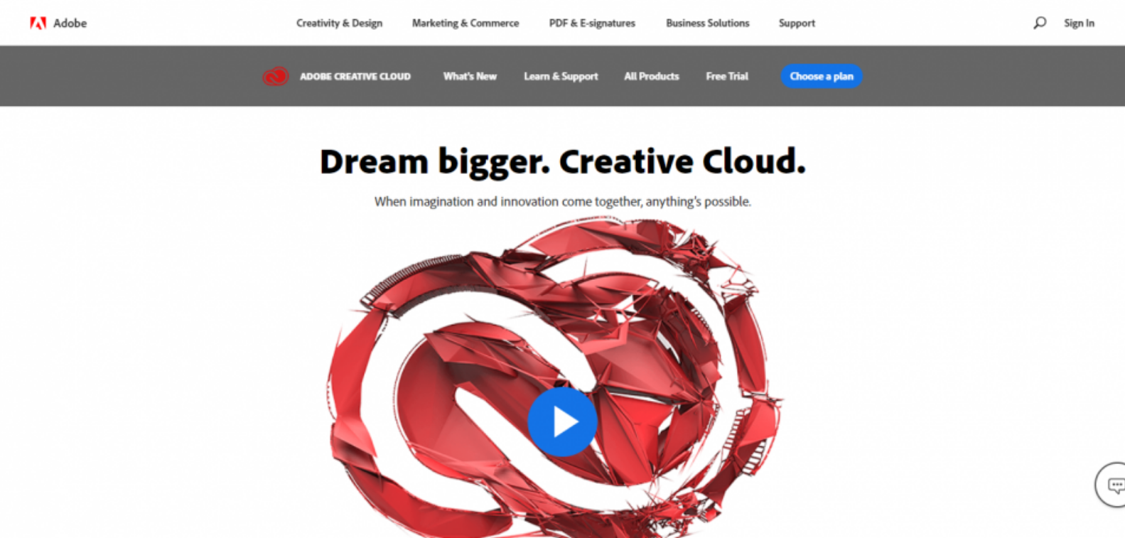 Adobe Homepage Resource